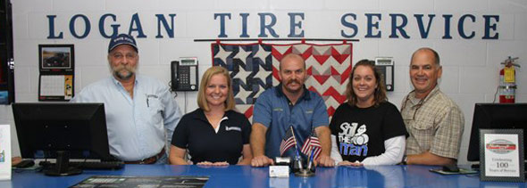 The Staff at Logan Tire Service